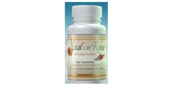 Amazon.com: 3 Frascos Vital Cure Renew! Como lo vio en TV - Original: Health & Personal Care