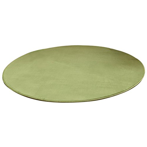 ADSRO Summer Pet Cooling Pad, Round Pet Mat Cat Dog Cool Pad Coral Velvet Mat Entry Carpet with Non-slip Backing size 39.3inch ()