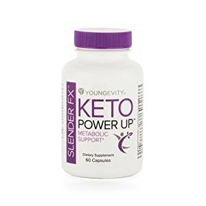 Keto Power Up Slender FX Enengy & Weight Control 60 caps - 6 Pack by Youngevity