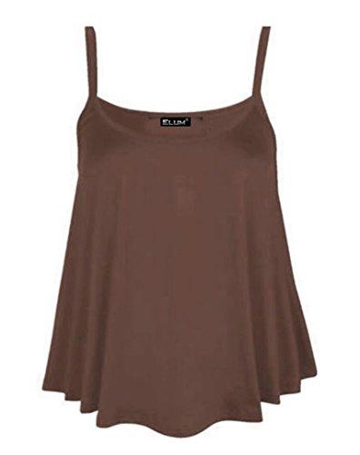 Elum® - Camiseta sin mangas - para mujer marrón