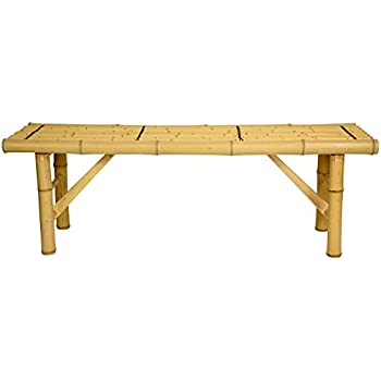 Oriental Furniture All Natural Tropical Style Coffee Table Alternative,  4 Feet, 48