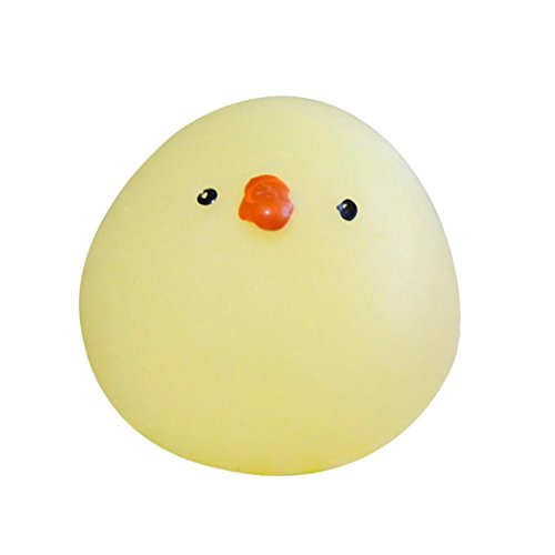 Price comparison product image Balakie Xmas Gifts New Mini Squishy Cute Yellow Chicks Squeeze Abreact Fun Joke Gift Rising Toys