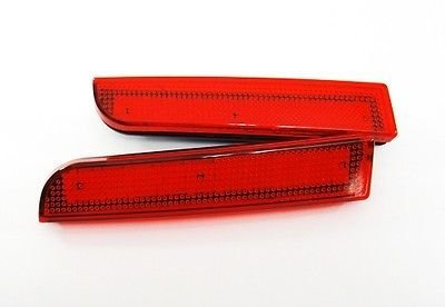 LEDIN Mitsubishi Lancer Evo X Red Lens Bumper Reflector LED Tail Brake Stop Light CZ4A ()