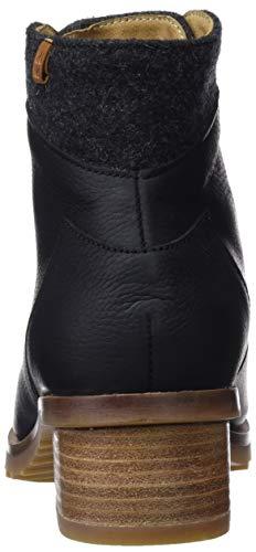 Naturalista kentia Grain Soft Stivaletti Donna Wool El black premium Nero Black N5108 Black HdqaTT0