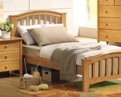 ACME San Marino Maple Twin (Bedroom Maple Footboard)