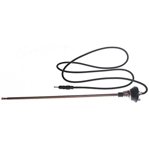 Evan-Fischer EVA39972032644 Universal Antenna Manual Antenna Length 11.22 in. Cable Length 47.24 (3500 Truck Chevy Truck)