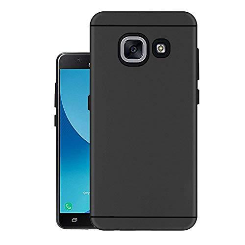ZATX Plan Matte Black Back Cover for Samsung J7Max  Samsung J7 Max, Black