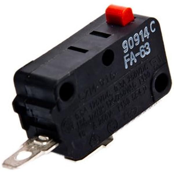 NEW GE micro-ondes Porte Commutateur WB24X823 WB24X829 WB24X10029 WB24X10047 WB24X10071