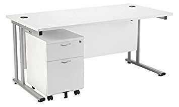 white office desk with drawers. white office desk 1200mm x 800mm home with 2 drawer mobile pedestal drawers w