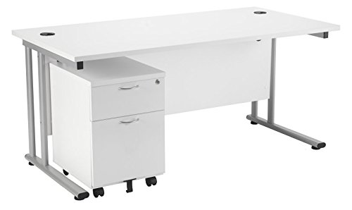 1800mm x 1000mm in A White Finish Smart Office Furniture Range from Relax Office Furniture Boardroom Table with Panel End Legs Conference Table