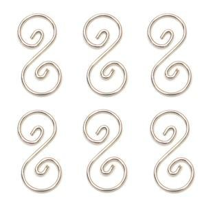 1-1/2inch Pre-Tinned Curly Q Hanger – 6 Pack