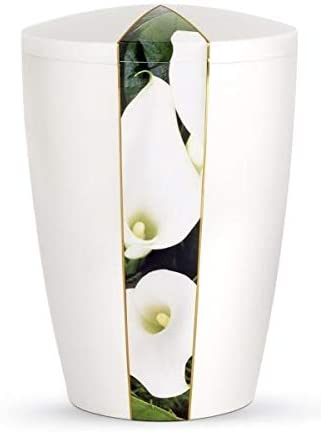 The Coffin Company Calla Lily/Pearly Iridescent - Urna funeraria ...