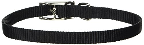 Coastal Pet Products DCP30112BLK Nylon Dog Collar, 3/8 by 12-Inch, Black
