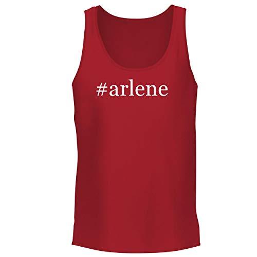 (#Arlene - Men's Graphic Tank Top, Red, X-Large)