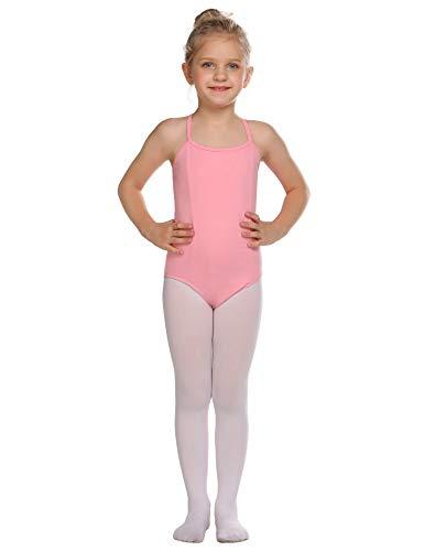 luxilooks Camisole Leotard for Girls' Dance Ballet Undergarment with Adjustable Straps 4-13 Years