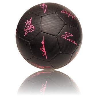 rogers Balon Grande FCB Negro FIRMAS Fluor: Amazon.es: Juguetes y ...