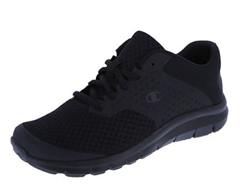 Black Ladies Trainers - Champion Black Black Women's Gusto Cross Trainer 9 Regular