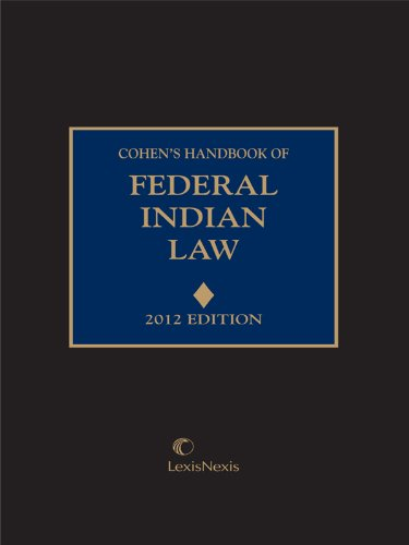 Cohen's Handbook of Federal Indian Law