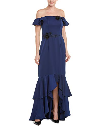 David Meister Gowns - David Meister Womens Gown, 2, Blue