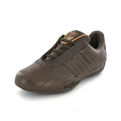 Adidas Goodyear Race FS Originals Leather Trainers espres brown UK 10.5   Amazon.co.uk  Shoes   Bags 74eb92b12