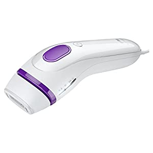 Braun Gillette Venus Silk-Expert IPL 3001 Intense Pulsed Light, SensoAdapt Technology, Body Hair Removal System with Razor