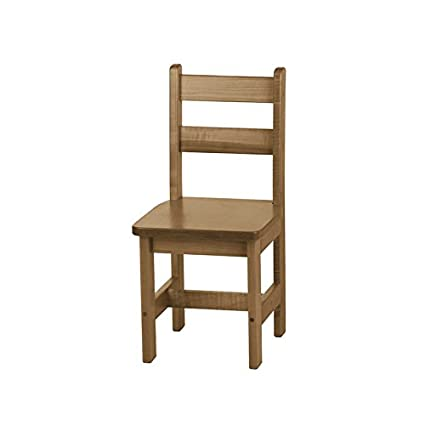 Amazoncom Childrens Wooden Chair Harvest Stain Amish Made In