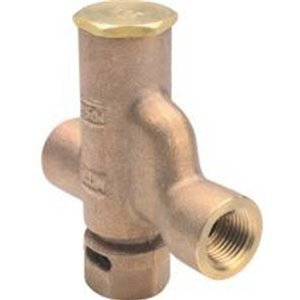 Zurn Z1022 0.75 Union Automatic Bronze Trap Primer Z1022-XL-1/2-IPU by Zurn
