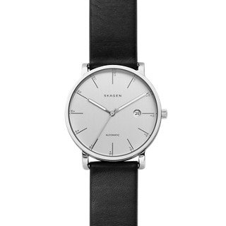 Skagen-Mens-SKW6302-Hagen-Black-Leather-Watch