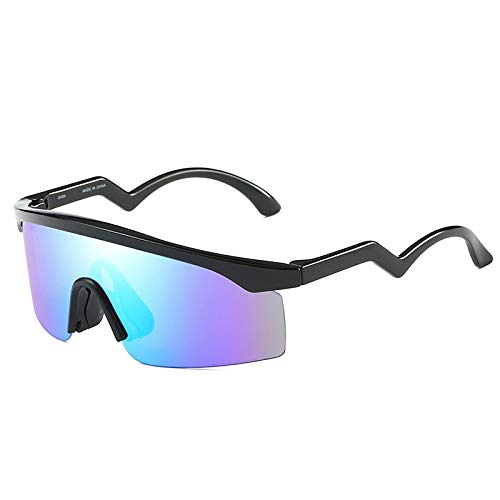 Lunettes de Soleil Lunettes Sport Homme Protection de C de Vent Lunettes Vision Soleil HD air en pour Coupe Plein Mjia sunglasses UV400 reflet Anti 5O8q7wqA