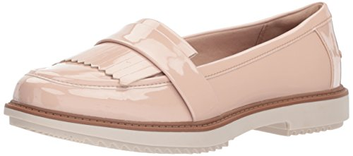 Clarks Raisie Theresa Loafer - Bañador para Mujer, Dusty Pink Synthetic Patent, 5.5 M US