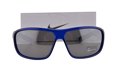 Nike EV0955 Mercurial 8.0 Sunglasses Game Royal w/Gray Silver Lens 400 EV 0955 - Kids Nike Mercurial Carbon