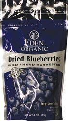 ORGANIC DRIED WILD BLUEBERRIES 4 OZ