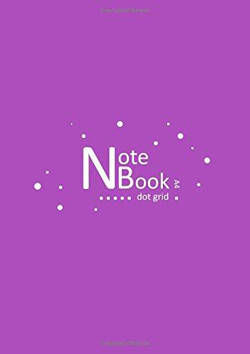 NB Notebook Dot Grid A4: Purple, Dotted Design (Bullet Journals) PDF