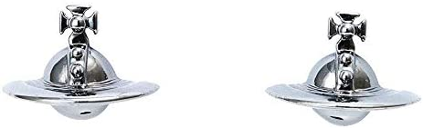 [ヴィヴィアン ウエストウッド]Vivienne Westwood ジュエリー ファッション アクセサリー ピアス SOLID ORB EARRINGS 立体 オーブ ガンメタル 724499B/4 [並行輸入品]