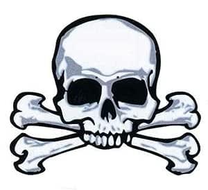Horror-Shop Cráneo y Huesos del Tatuaje del Pirata: Amazon.es ...