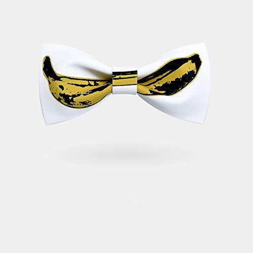 ZXF Banana Digital Offset Corbata Moda Hombre Casado Groomsman ...
