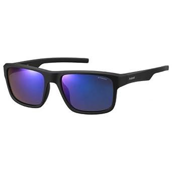 Polaroid Hombre PLD 3018/S JY DL5 Gafas de sol, Negro (Matt Black/Greyblmirror Pz), 55: Amazon.es: Ropa y accesorios