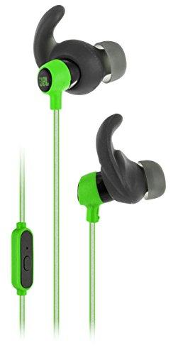 JBL Reflect Mini - Intrauriculares deportivos (resistentes al sudor, cable altamente reflectante,...