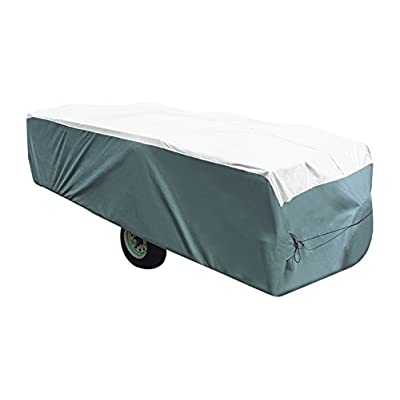 "ADCO 22895 Pop Up Trailer Tyvek & Polypropylene Cover - 16'1"" to 18' , Gray: Automotive"