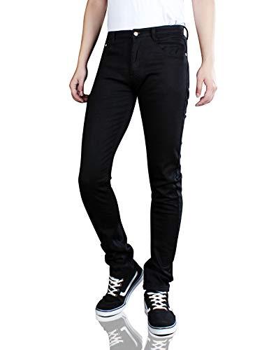 - Demon&Hunter 808 Series Men's Skinny Slim Jeans Fleece Lined 8020x1(30)