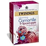 Twinings Warming Camomile & Spiced Apple, 20 Tea Bags, 25g