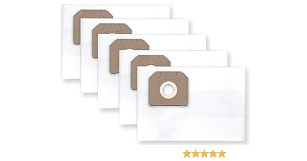 5x bolsas para aspirador tejido Hilti VCU 40L: Amazon.es: Hogar