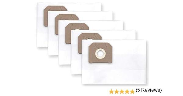 5x bolsas para aspirador tejido STIHL SE 121, 122: Amazon.es: Hogar