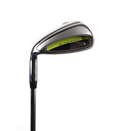 New Nike Slingshot 4D Mens Sand Wedge LH w/ R-Flex Steel Shaft