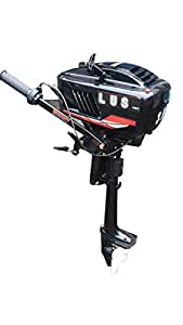 3.5 HP Outboard Motor Two Stroke Boat Engine Water Cooled