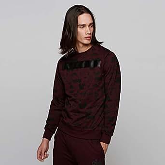 Smiley World Sweatshirts For Men, Maroon M