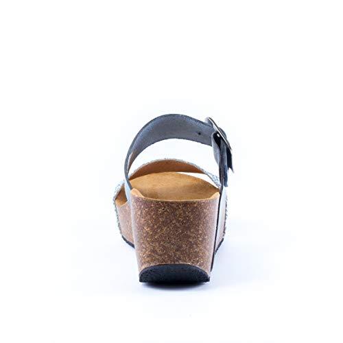 Argento Donna Argento Plakton sandali sandali Sabot Donna Sabot Plakton wRErR14q