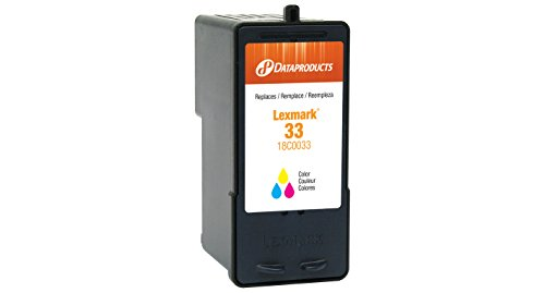 Dataproducts DPC0033 Remanufactured Inkjet Cartridge for Lexmark #33, ()