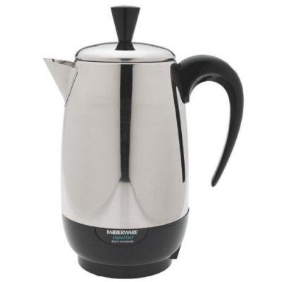 Farberware Percolator 8 Cup Stainless Steel 1000 W (Applica Coffee Percolator)