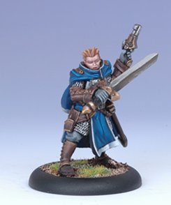 Iron Kingdoms Miniatures: Royal Guard Coleman Stryker
